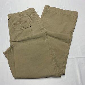 J. Jill Size 6 Light Brown Trouser Style Pants